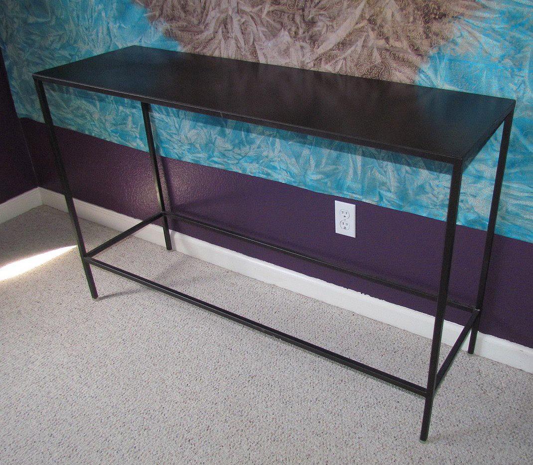 Metal Console table Fine Art Custom Furniture Boulder Denver Colorado