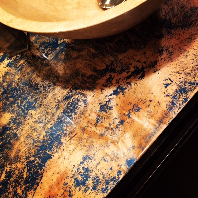 maple countertop Fine Art Custom Furniture Boulder Denver Colorado
